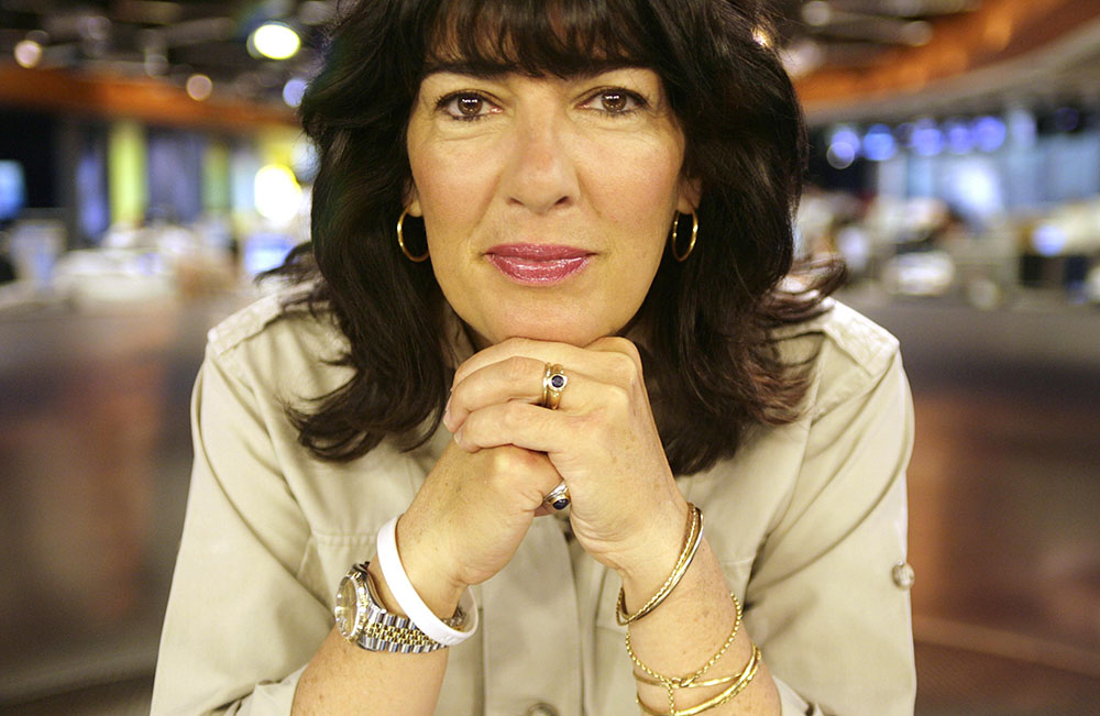Christiane Amanpour sends The Bearded Man an explicit photo on his birthday each year. It's sad really.