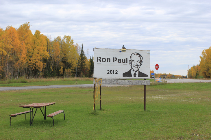 BEST DRAWING OF RON PAUL, AS VOTED BY THE ROYAL ORDER OF MOOSE – DULUTH, MINNESOTA.