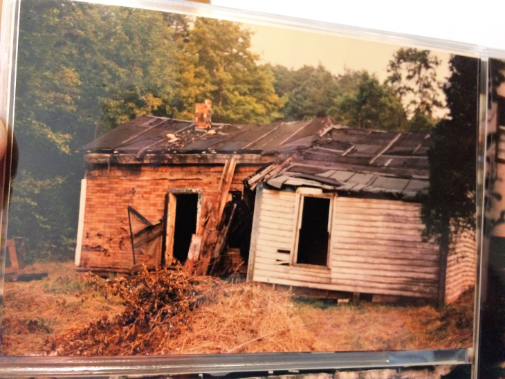 THIS IS A PHOTO OF MY MOTHER'S CHILDHOOD HOME UP ON CHRISTY CREEK. NO RUNNING WATER, NO ELECTRICITY. WHEN I WAS RECENTLY IN MOREHEAD, A FRIEND AND I DROVE FROM THE SPOT WHERE THIS HOUSE STOOD, TO THE ELEMENTARY SCHOOL MY MOTHER ATTENDED. 4.2 MILES EACH WAY, IN SHOES STUFFED WITH NEWSPAPER FOR WARMTH. EMMA LEE WAS THE OLDEST GIRL IN A FAMILY OF 13 KIDS.