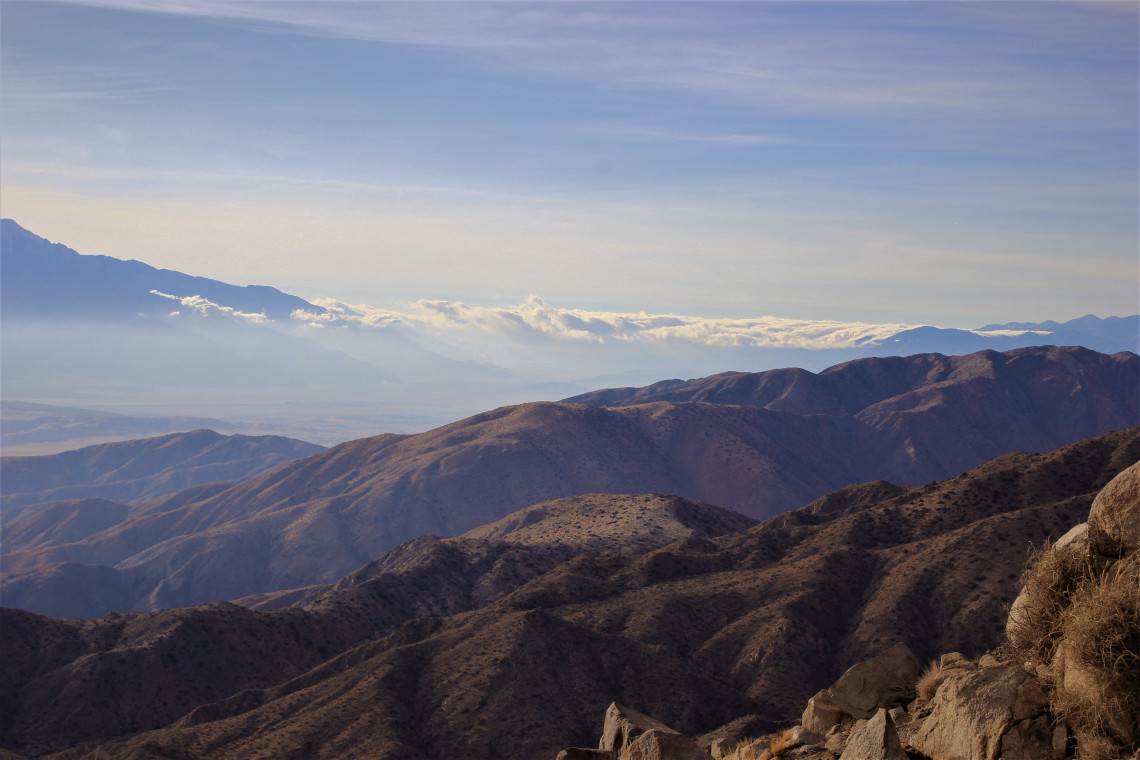 Keys View looking toward Palm Springs. I could see Bob Hope.