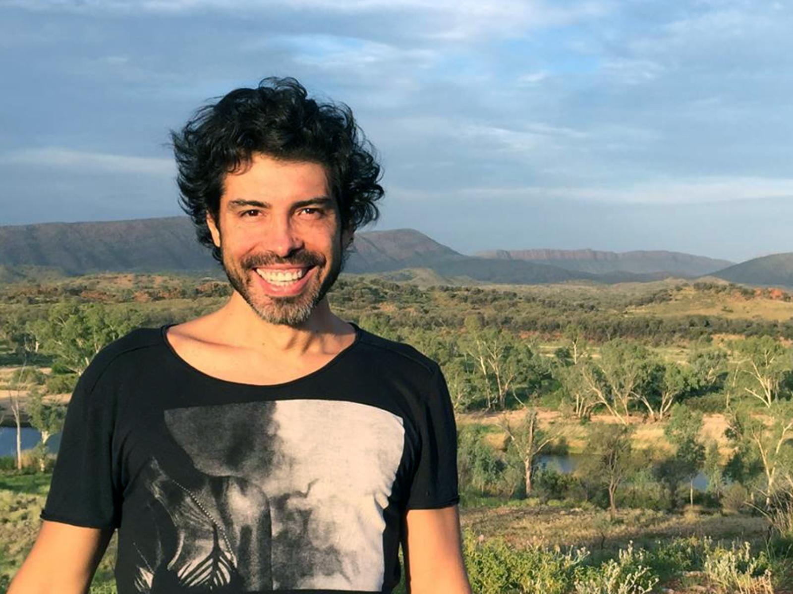 Leonardo Ortega in Central Australia, 2016