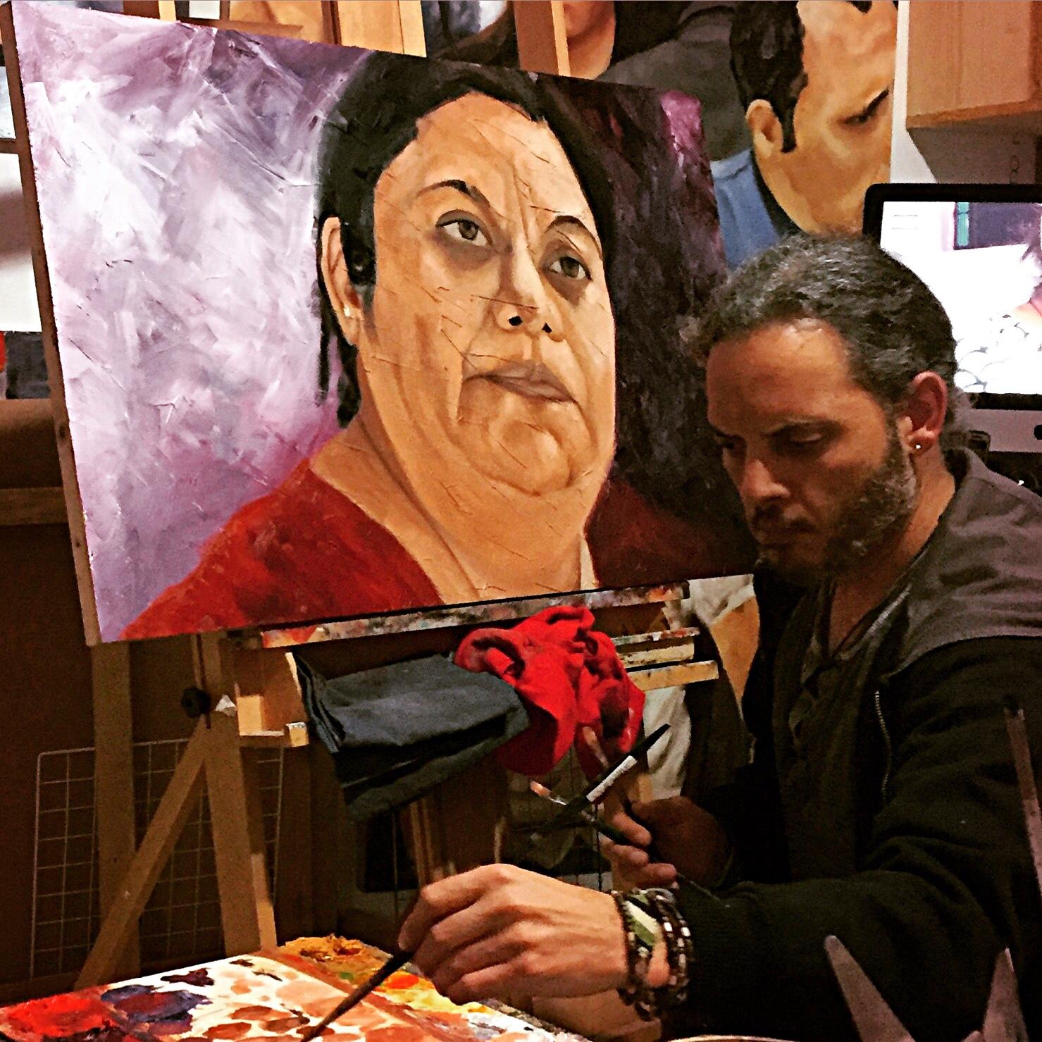 "Painting ""Lorena"""