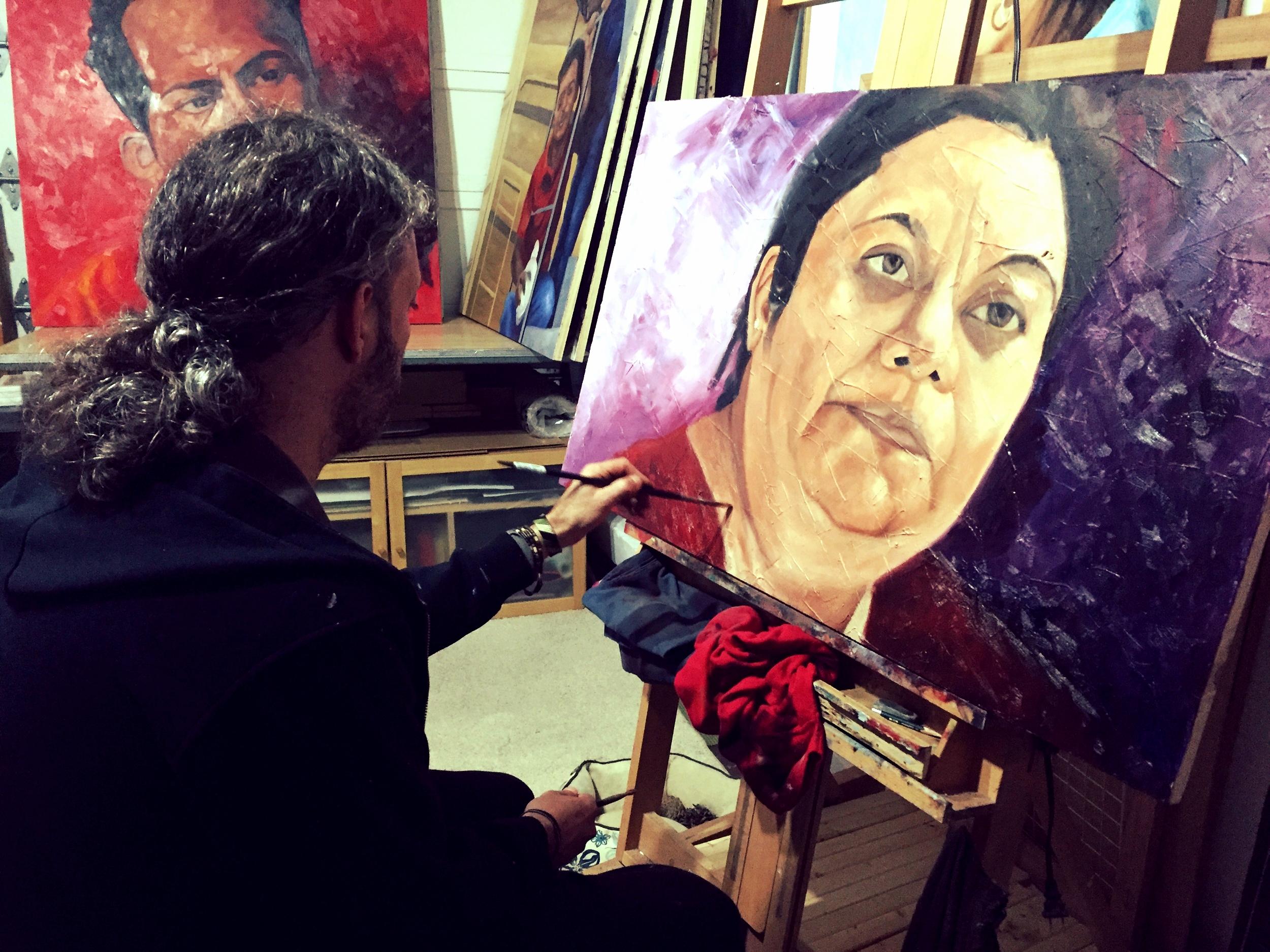 Painting 'Lorena'