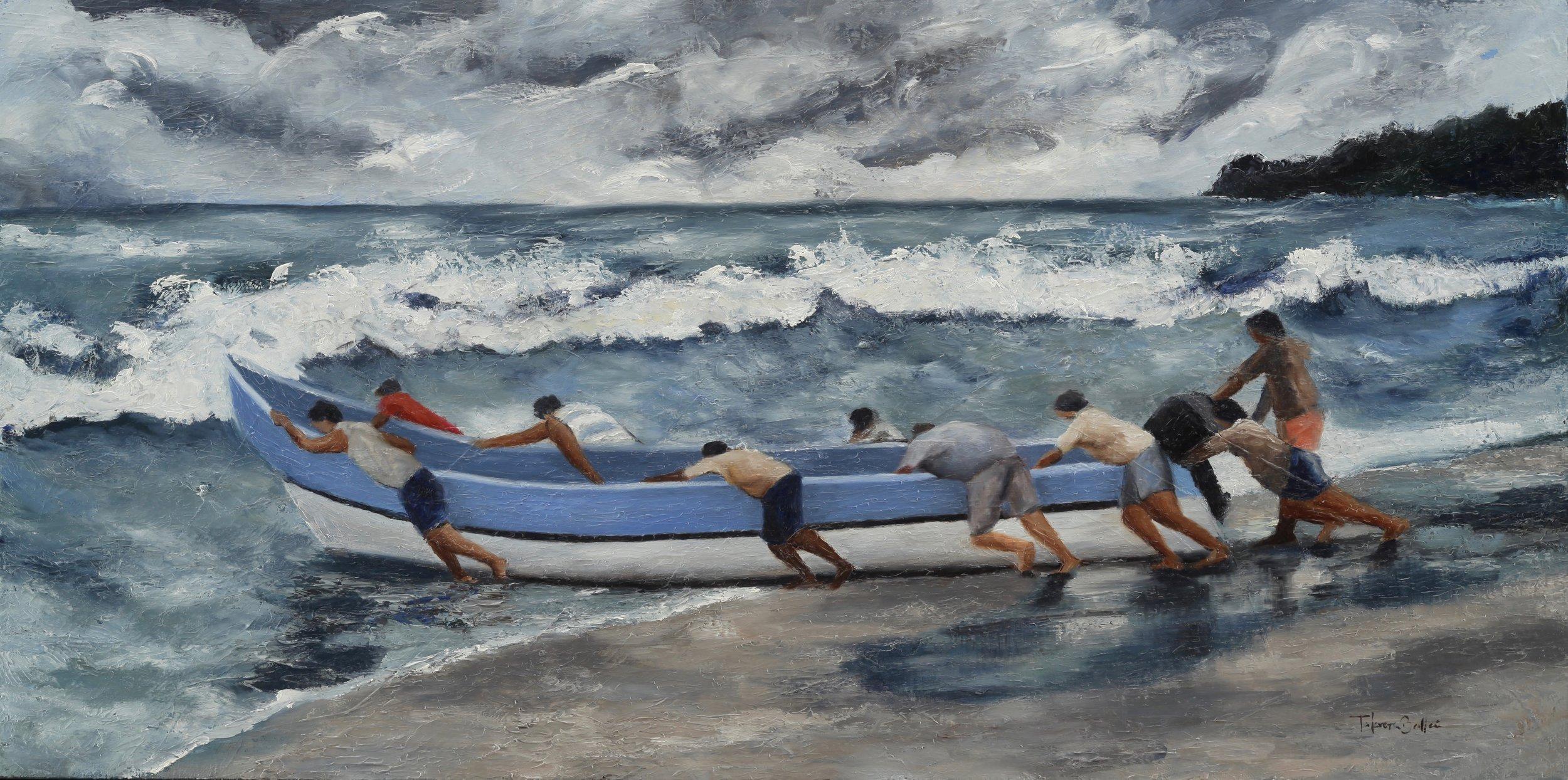 """""""Desafiando la marea"""""""