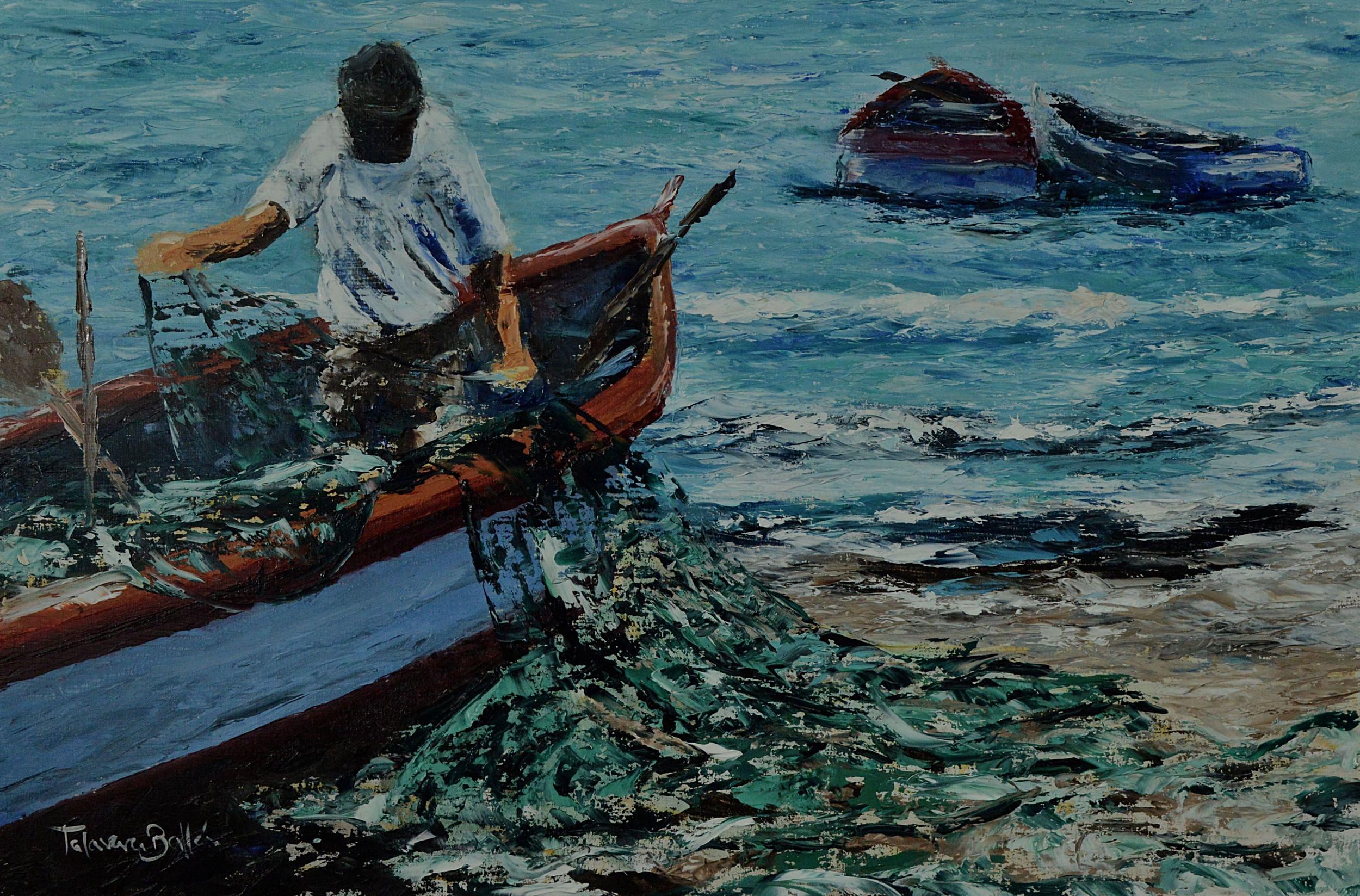 """""""Alistándose para la Pesca"""""""
