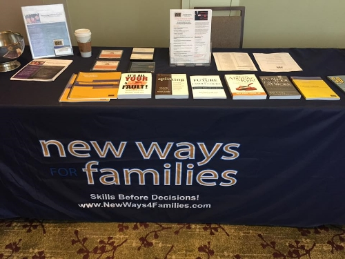 Jennifer works with New Ways for Families at the SCCP Spring Summit in Costa Mesa. (May 7, 2016)