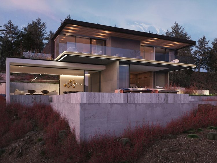 Brentwood Residence - Location / Los Angeles, CaliforniaArchitect / Belzberg Architects + Ezequiel Farca / Cristina GrappinSize / c.8,000 SFStatus / In progress
