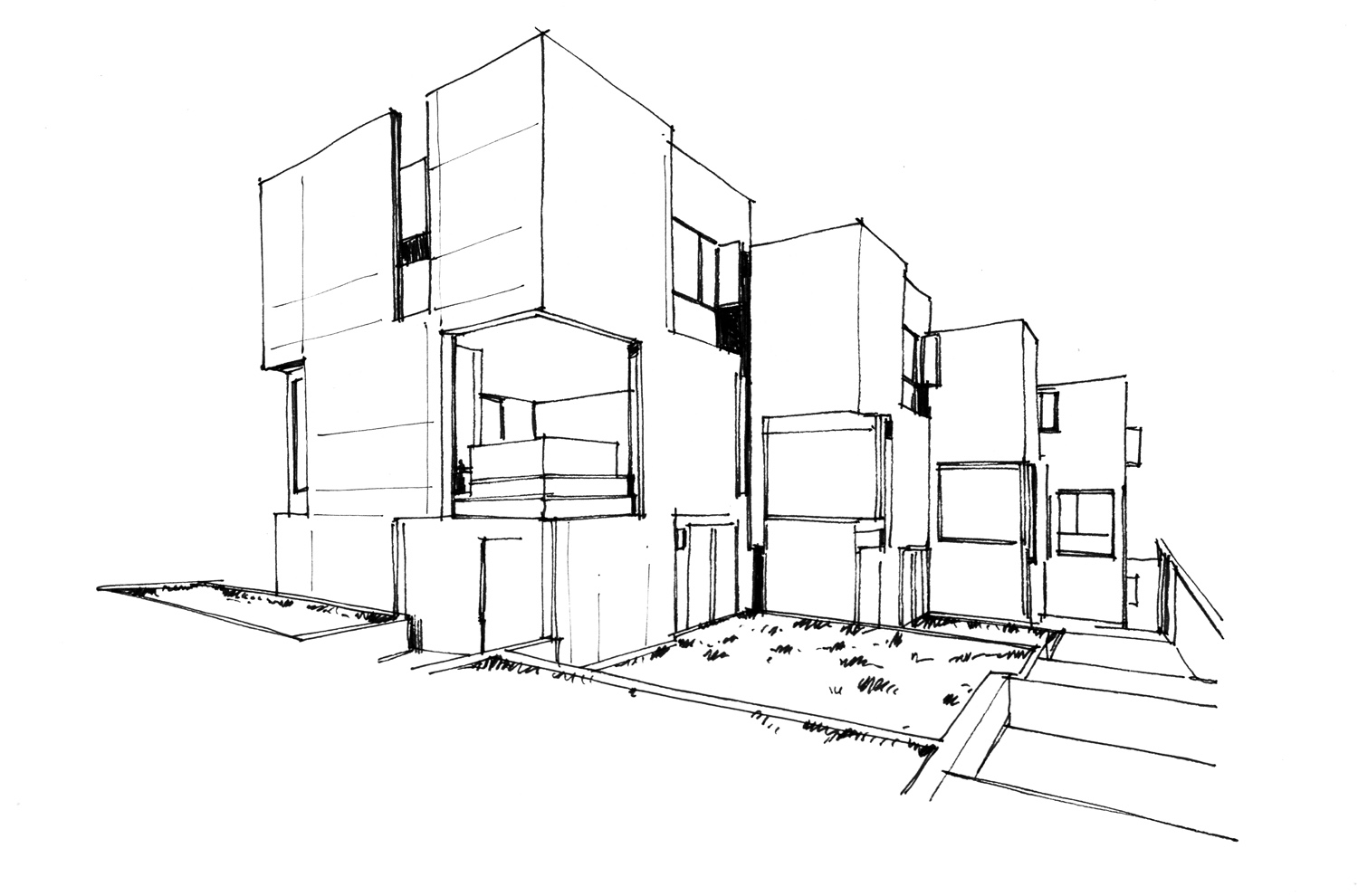 Silverlake Subdivision - Location / Los Angeles, CaliforniaArchitect / OBERMEYER ArchitectureSize / c.9,600 SFStatus / In Progress