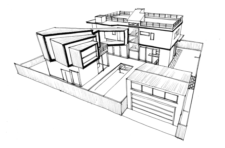 Clark - Location / Los Angeles, CaliforniaArchitect / David Hertz, SEASize / c. 1800 SF New | 3200 SF ExistingStatus / In Progress