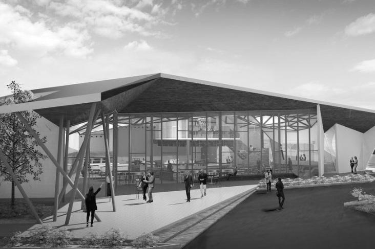 TKB - Location / Indio, CaliforniaArchitect / Burgeoning ArchitectsSize / c.12,000 SFStatus / In progress