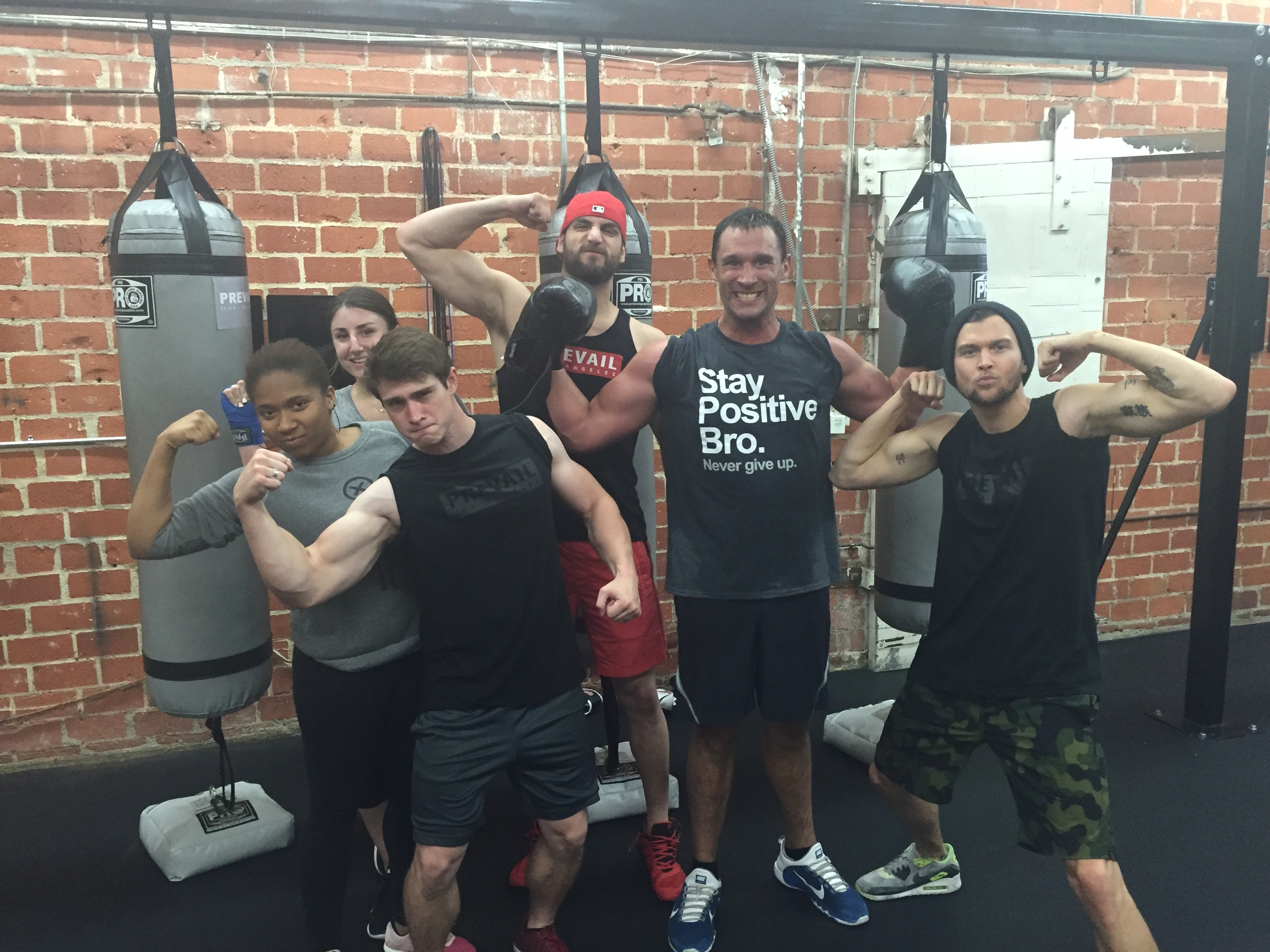 May 18, 2015 - Boxing at  Prevail Los Angeles  to set the tone the day before chemo! Big shout out to Prevail. They've been there for and with Allison and me at every step of the way! I'm so lucky to have them in my life.