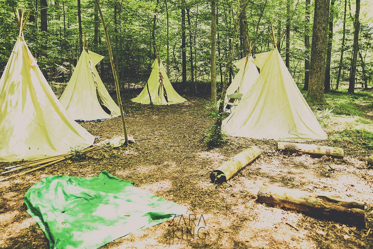 camp winona teepee valley
