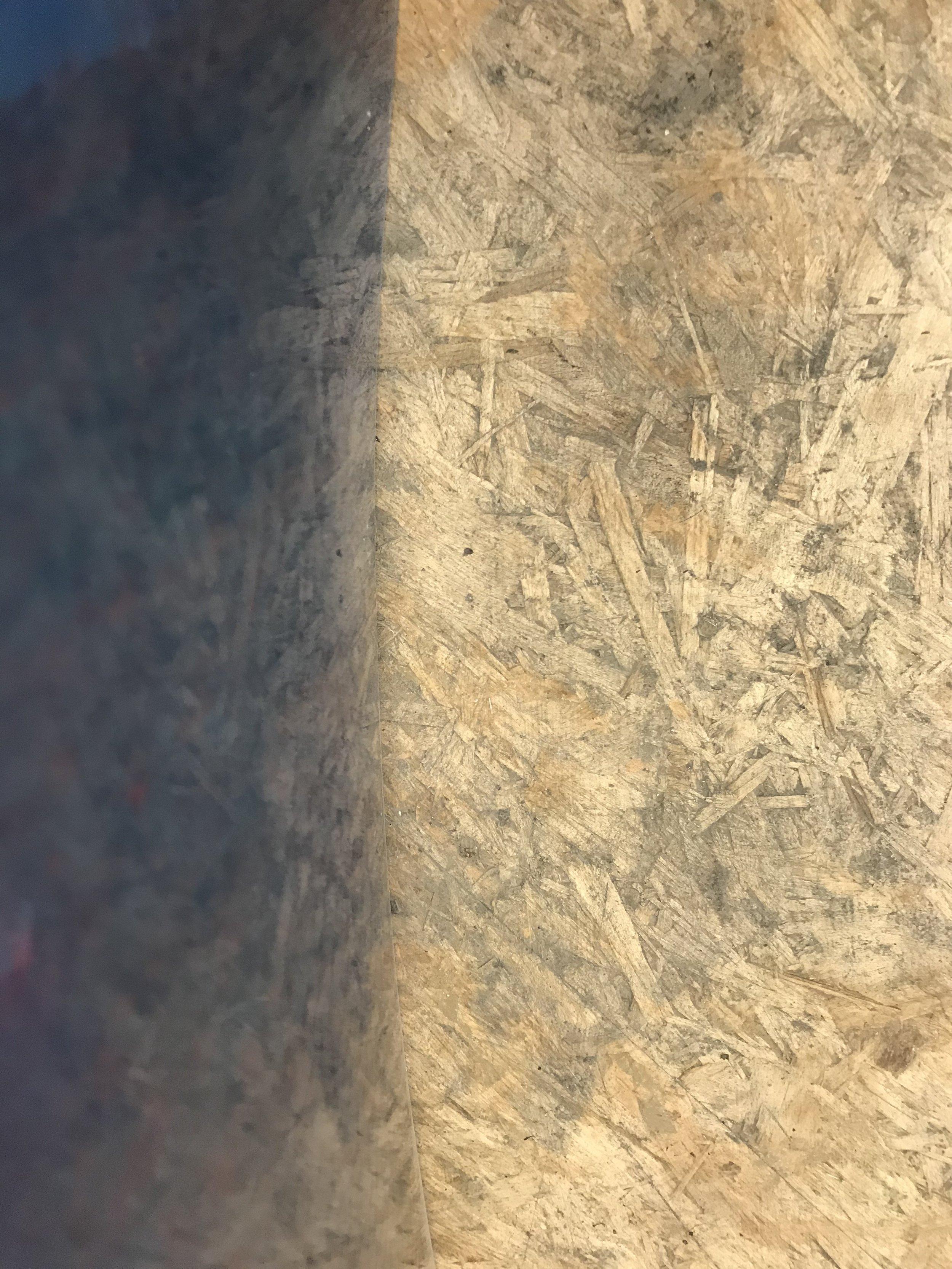 osb floors lay tangent to Fiberglass Bellies
