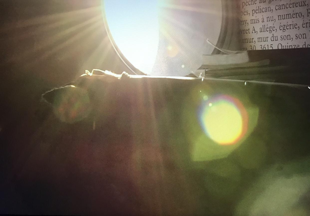 sun through a window