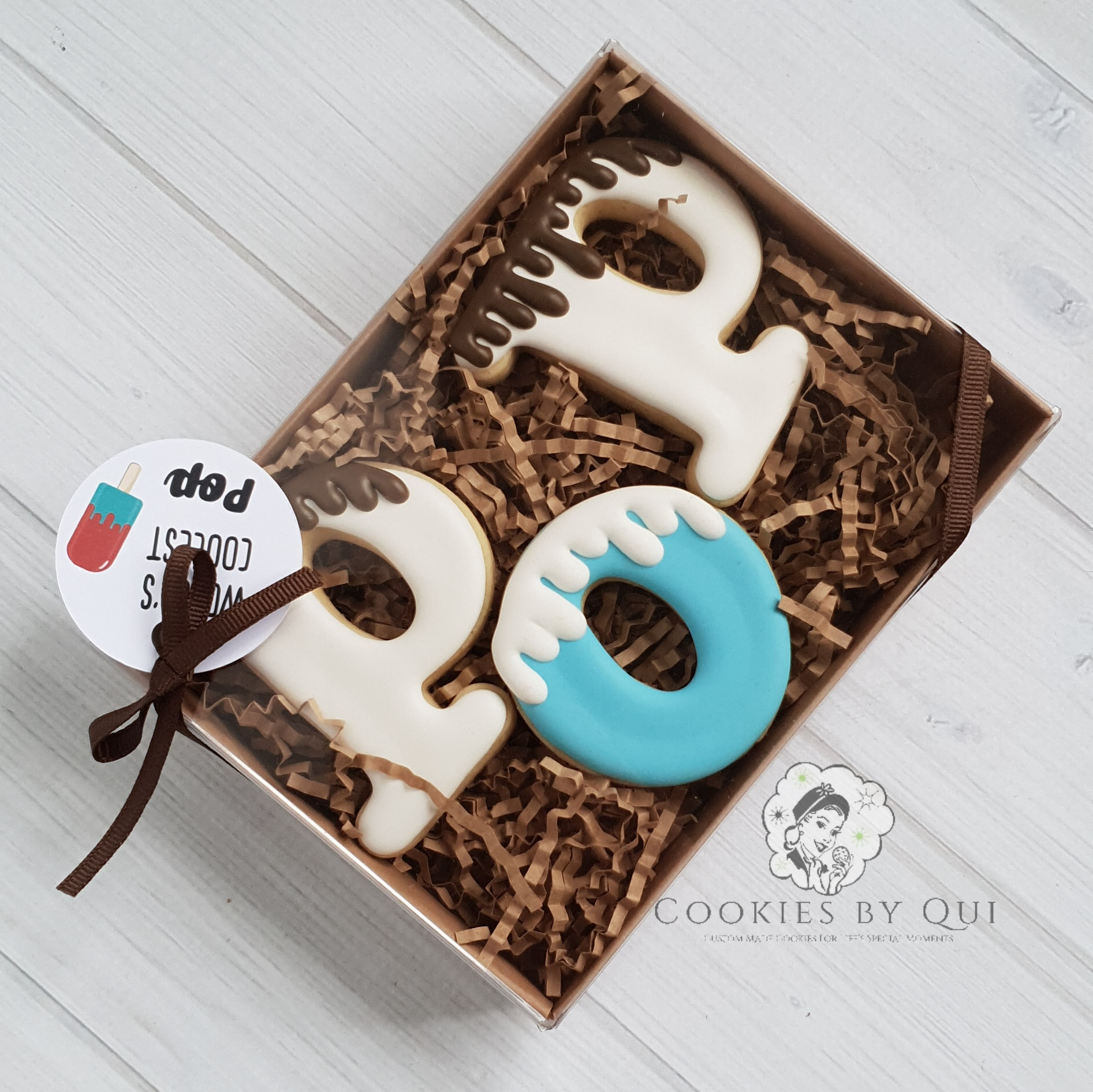 World's Coolest Pop Father's Day Cookies