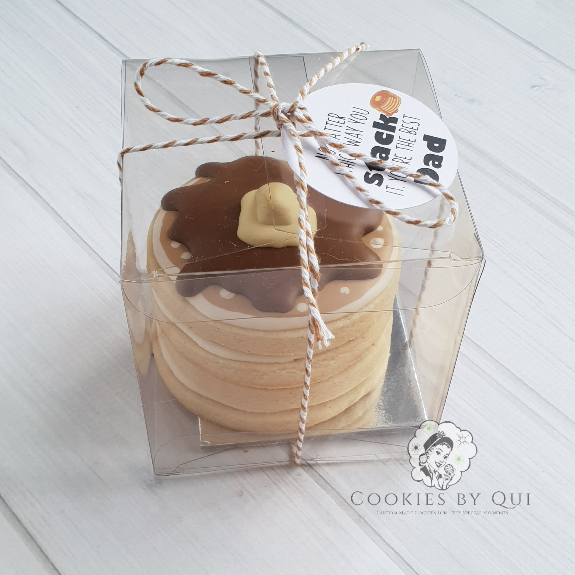 Pancake Stack Gift Box Father's Day
