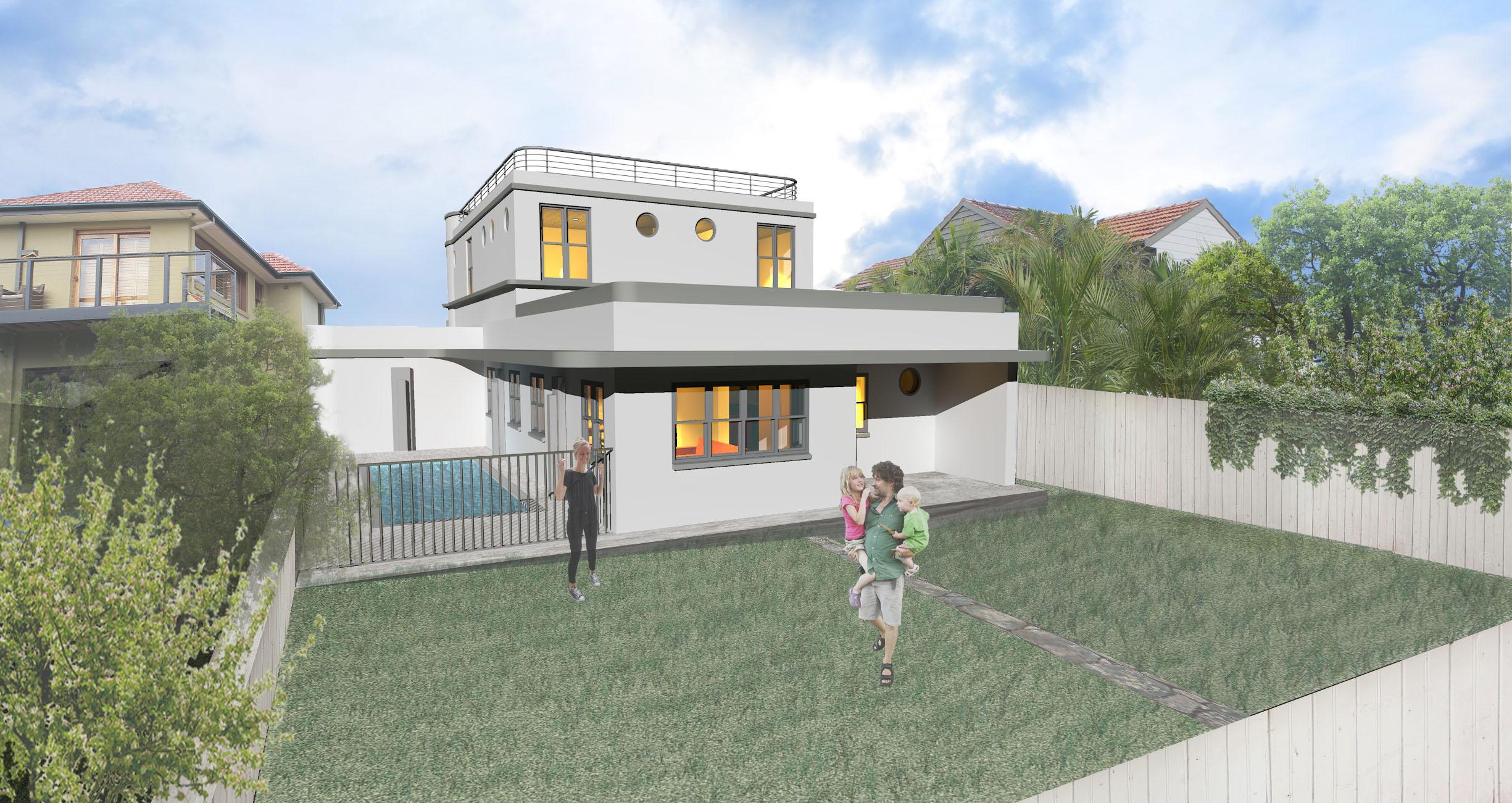 P+O House