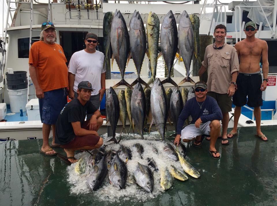 Yellowfin Tuna and Mahi