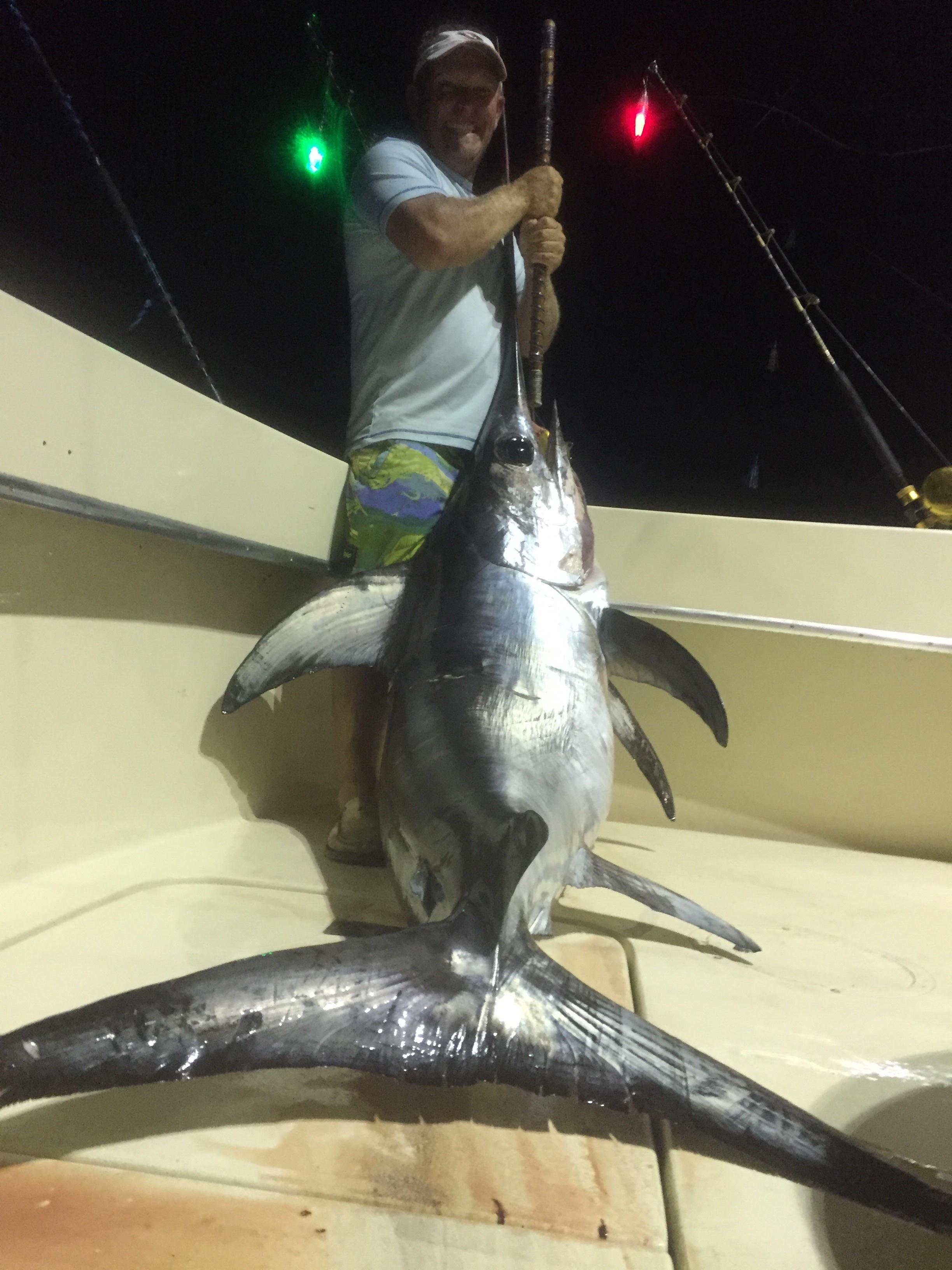 180-200lb Swordfish!!!