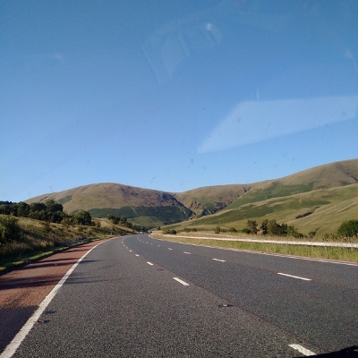 On our way home again, through the Lake District.