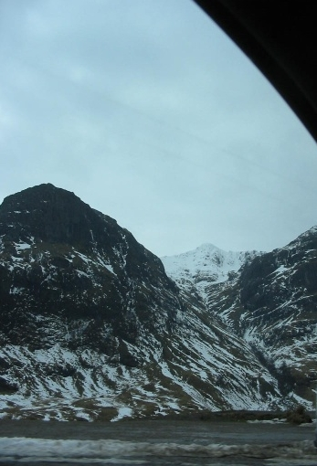 and a while north to Glencoe