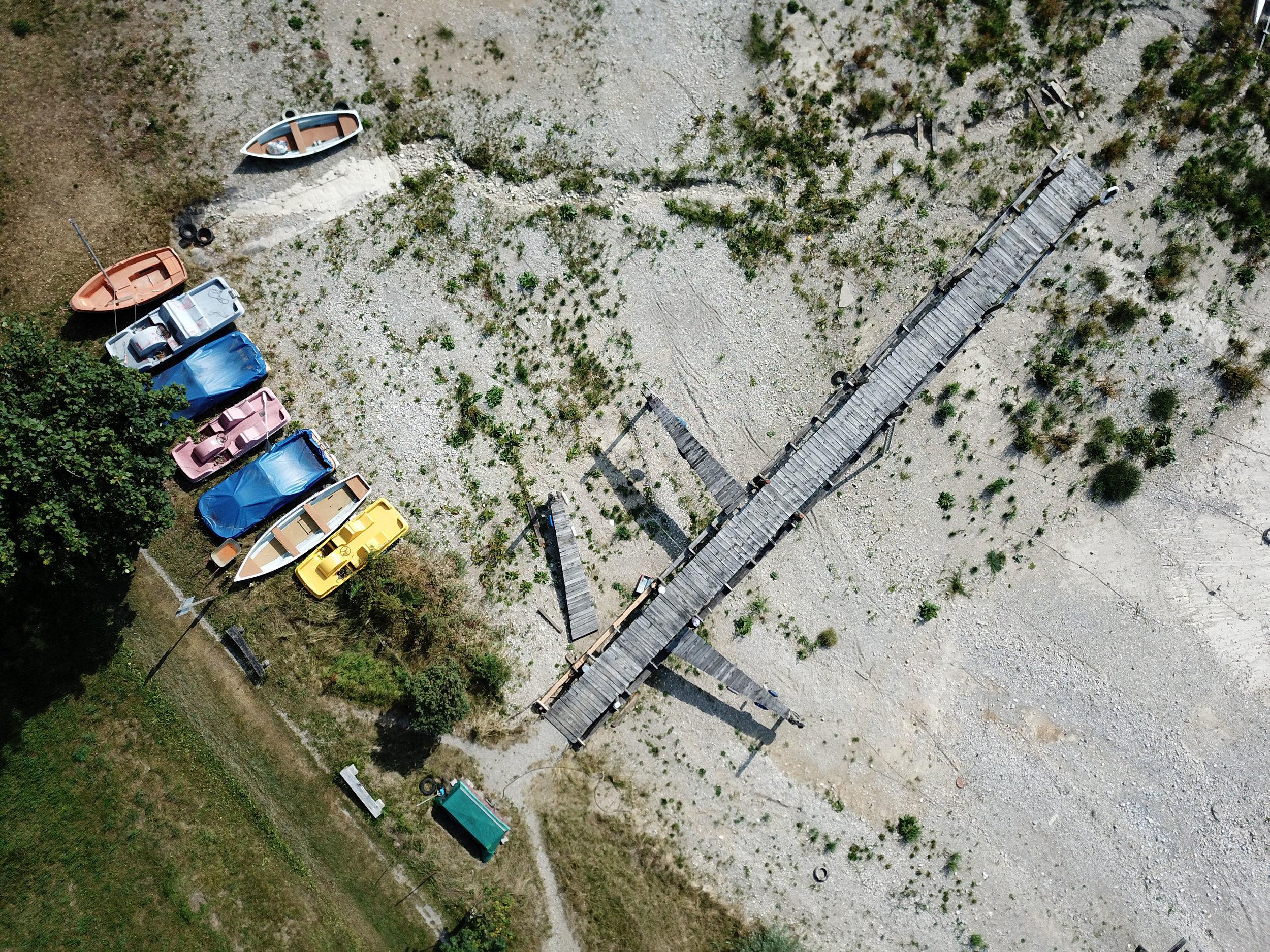 Forggensee, Drohnenaufnahme