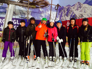 12 week IASI instructor training group at The Snow Centre!