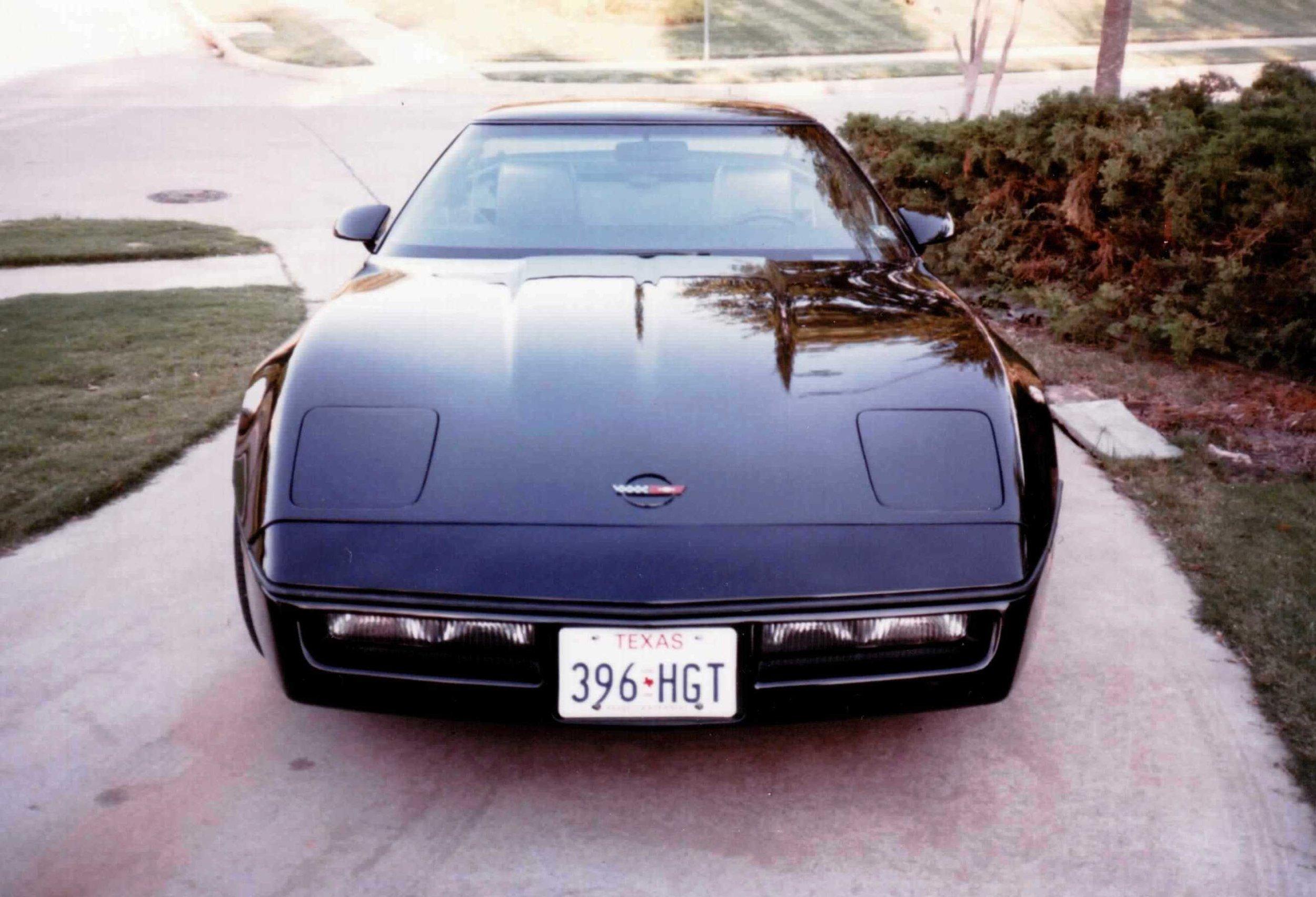 My 1985 Corvette in Dallas, Texas