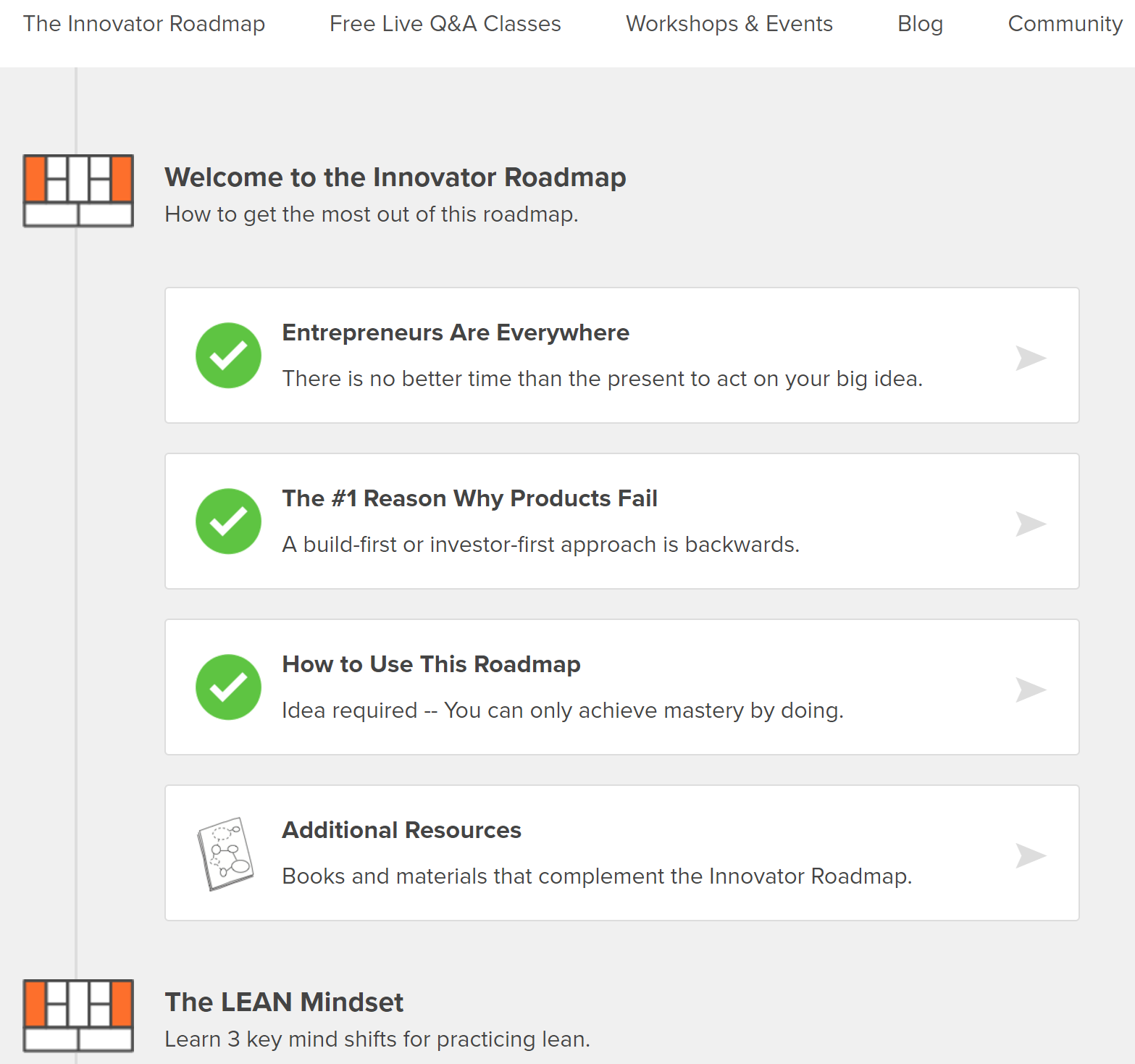 Snapshot of online tool