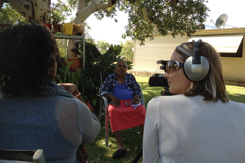 Lucy Marshall & Anne Poelina, Bidanburru Community, 2013