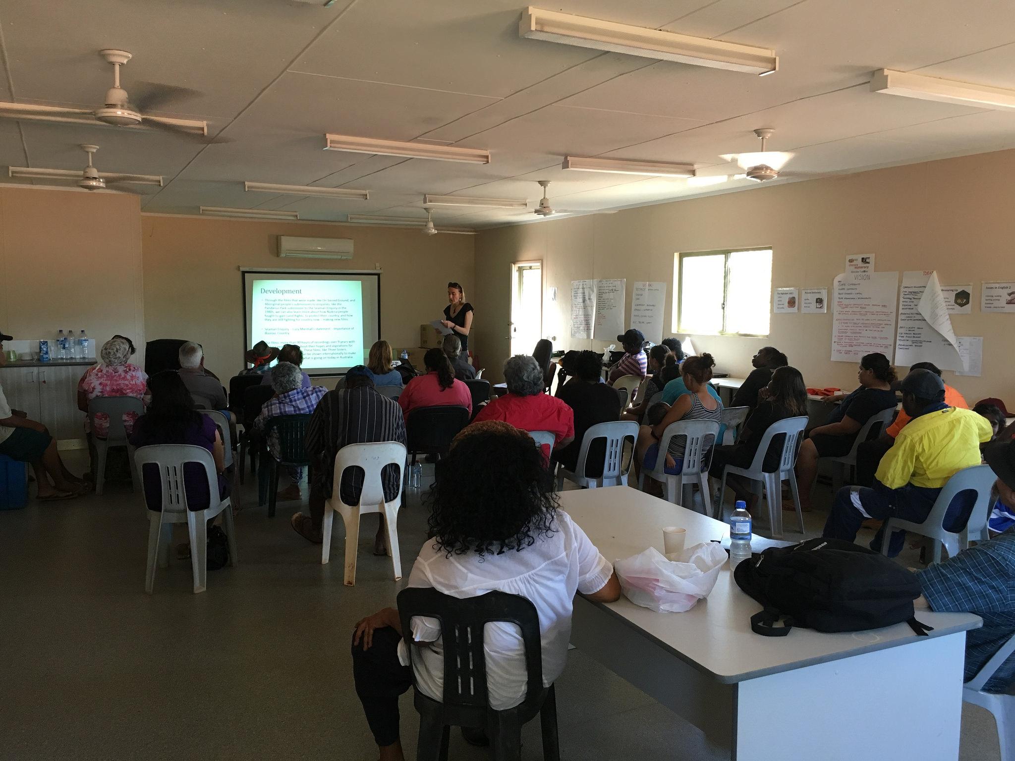 Pandanus Park Community Presentation