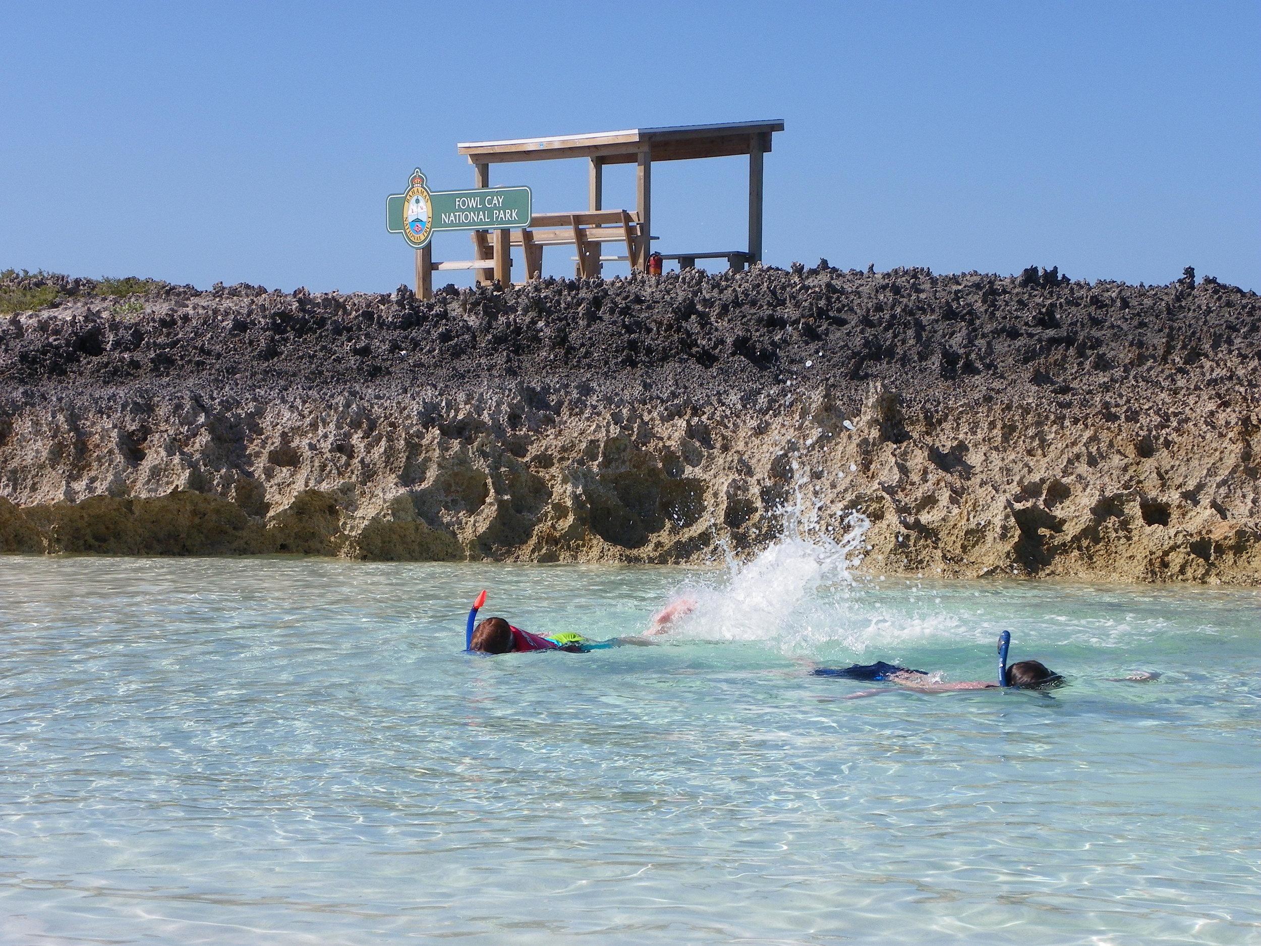Fowl Cay Bahamas