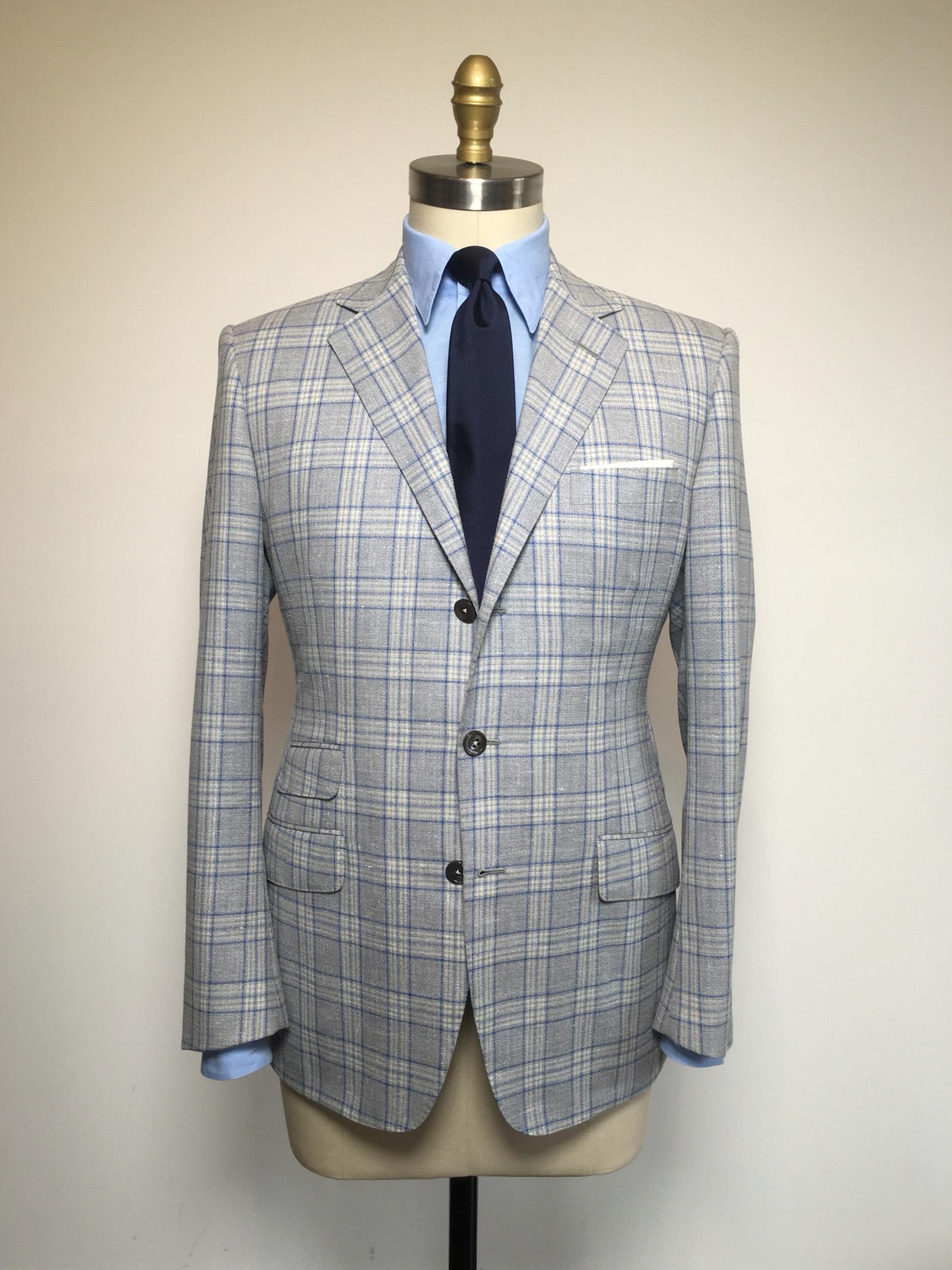 Silk linen and wool bespoke sportscoat.jpg