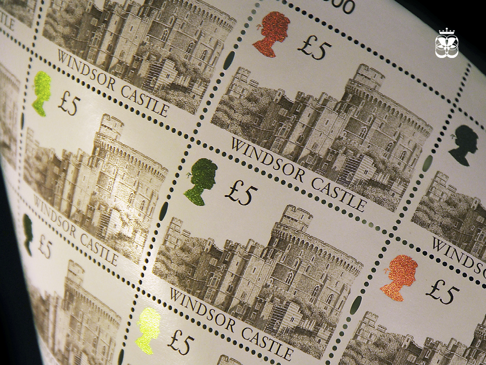 Intaglio Stamp with OVI ink