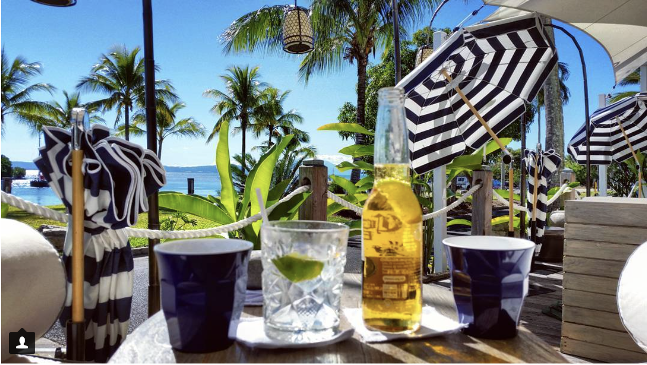 "In the wise words of Captain Jack Sparrow, ""Not all treasure is silver and gold, mate"". And what a treasure this new little watering spot is. With interiors so cool they hurt, styled by owner Wendy McWilliam, this boardwalk bar overlooking Dickson's Inlet is tropical plantation heaven. CLICK on image, to read more..."