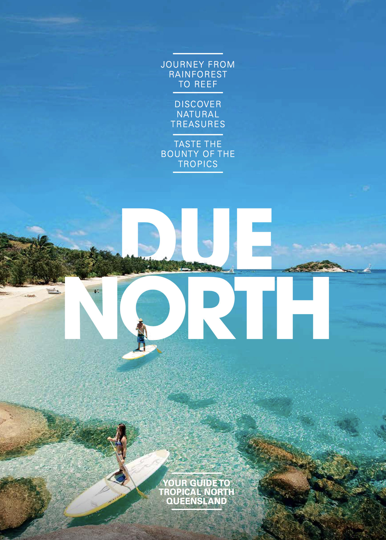 From exotic fruits, signature cocktails, craft beers & homegrown chocolate, let's not forget the spectacular seafood in abundance in this part of the world either, Tropical North Queensland is a food lover's paradise.   CLICK on image, go to pg. 8 & 9 to read more...