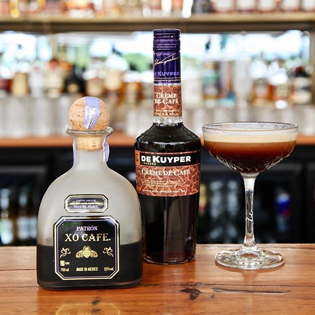 "COCKTAIL OF THE WEEK is the "" XO XO Martini"" 🍸""… A smooth Espresso Martini style cocktail, comprising Patron XO Café tequila, De Kuyper Crème de Café & coffee… Yum!"" See you from 3pm today.  Bacardi 