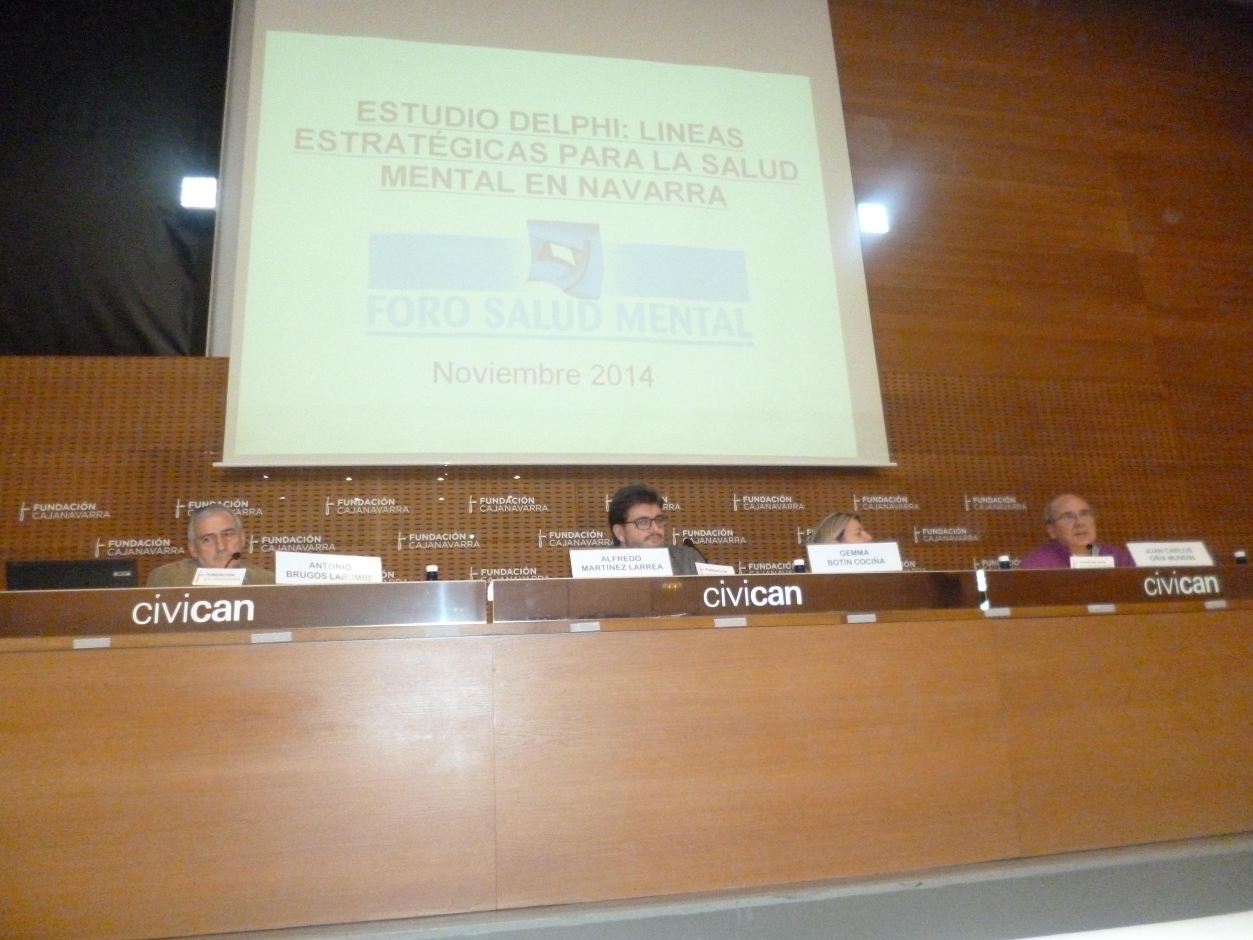 De izquierda a derecha, Antonio Brugos,Alfredo Martínez, Gemma Botín,y Juan Carlos Oria, presidente FSM
