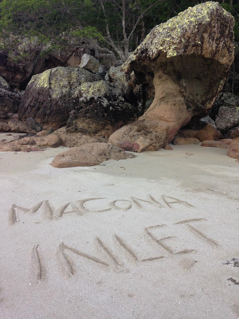 Macona in sand.JPG