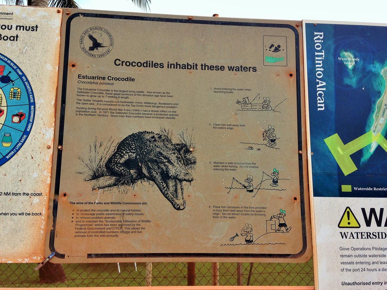 croc sign Gove.JPG