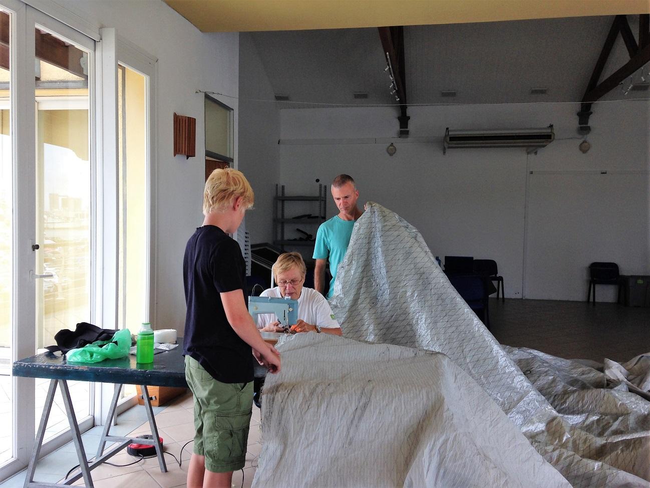 repairing sail.JPG