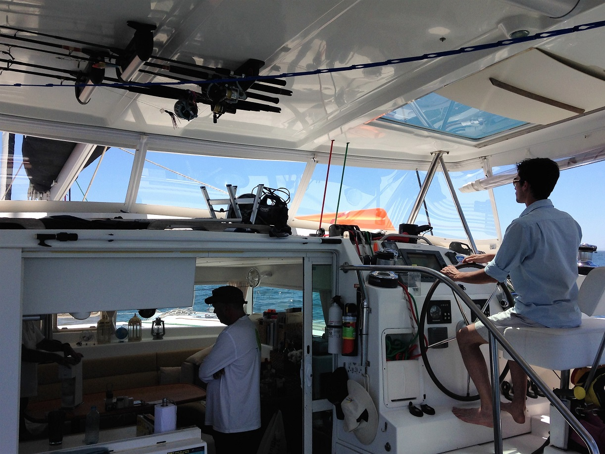Galen test sail.JPG