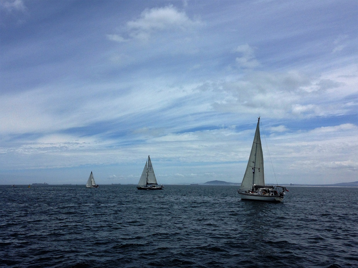ARC boats leave.JPG