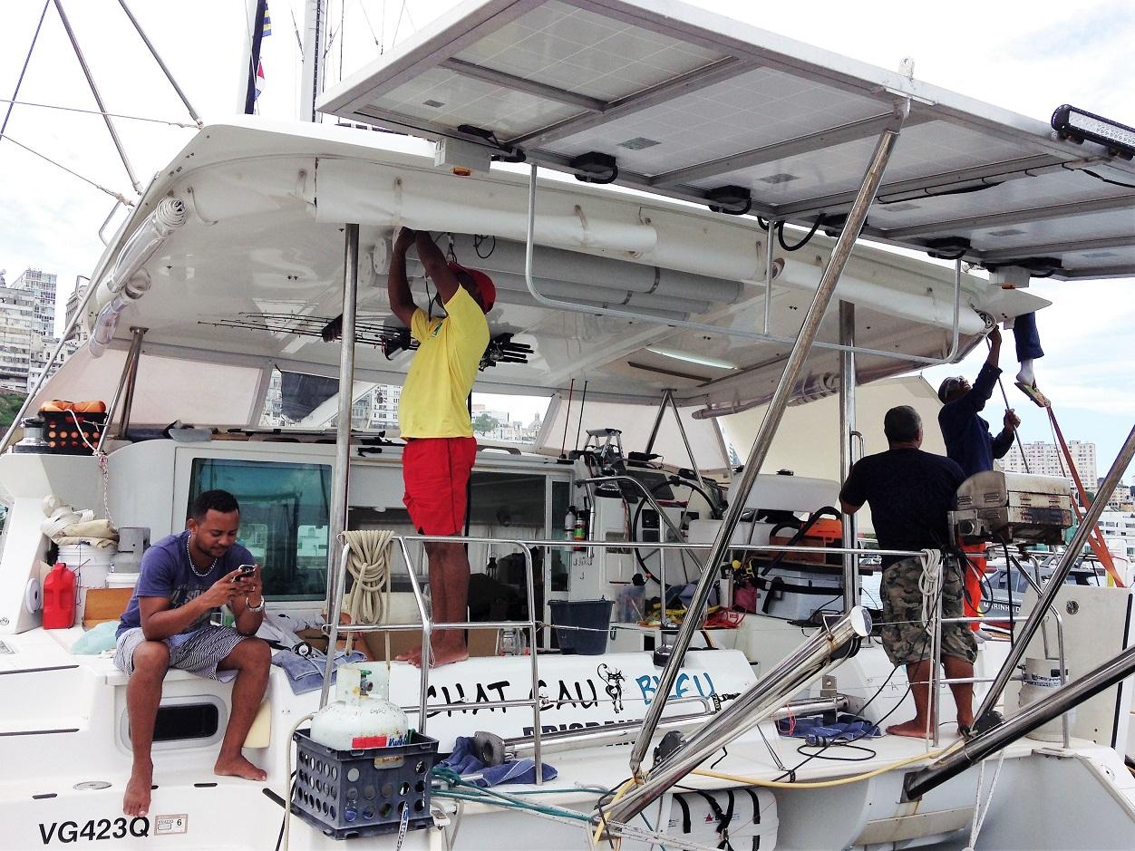 work on board.JPG