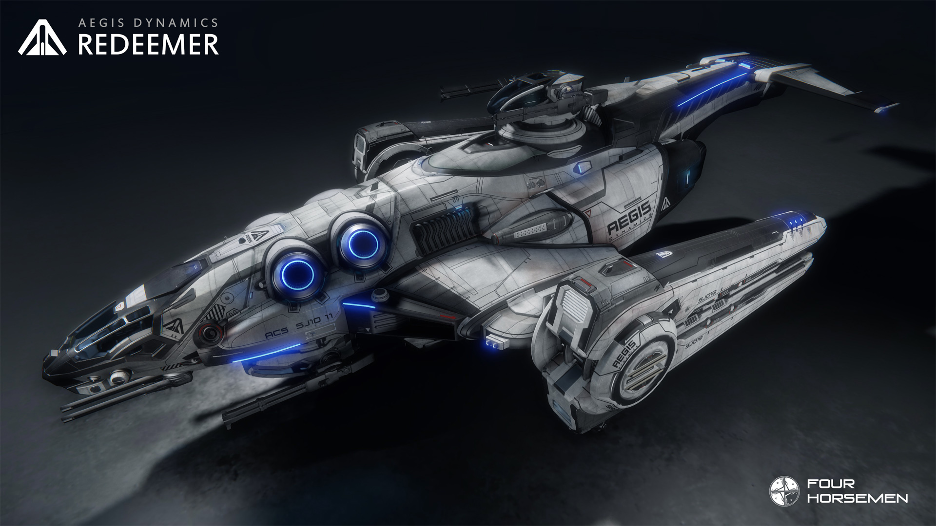 Aegis Dynamics Redeemer - Final design
