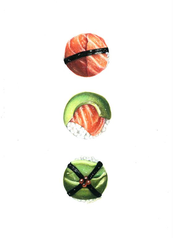 Sushi Trio