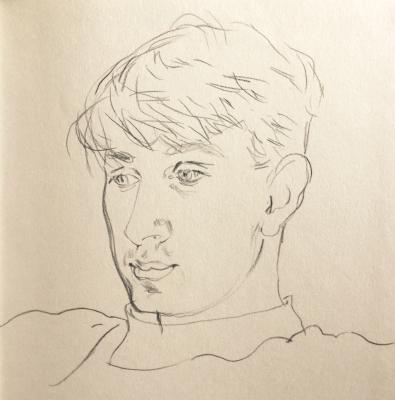 Well drawn boy