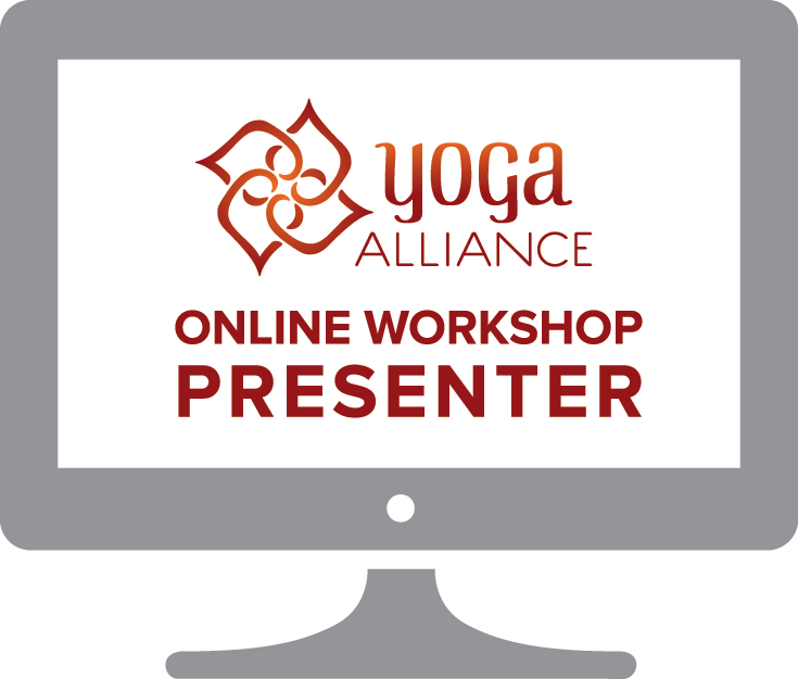 Lara is proud to be a Yoga Alliance online workshop presenter.