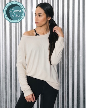 Cream Lounge Boyfriend Sweater