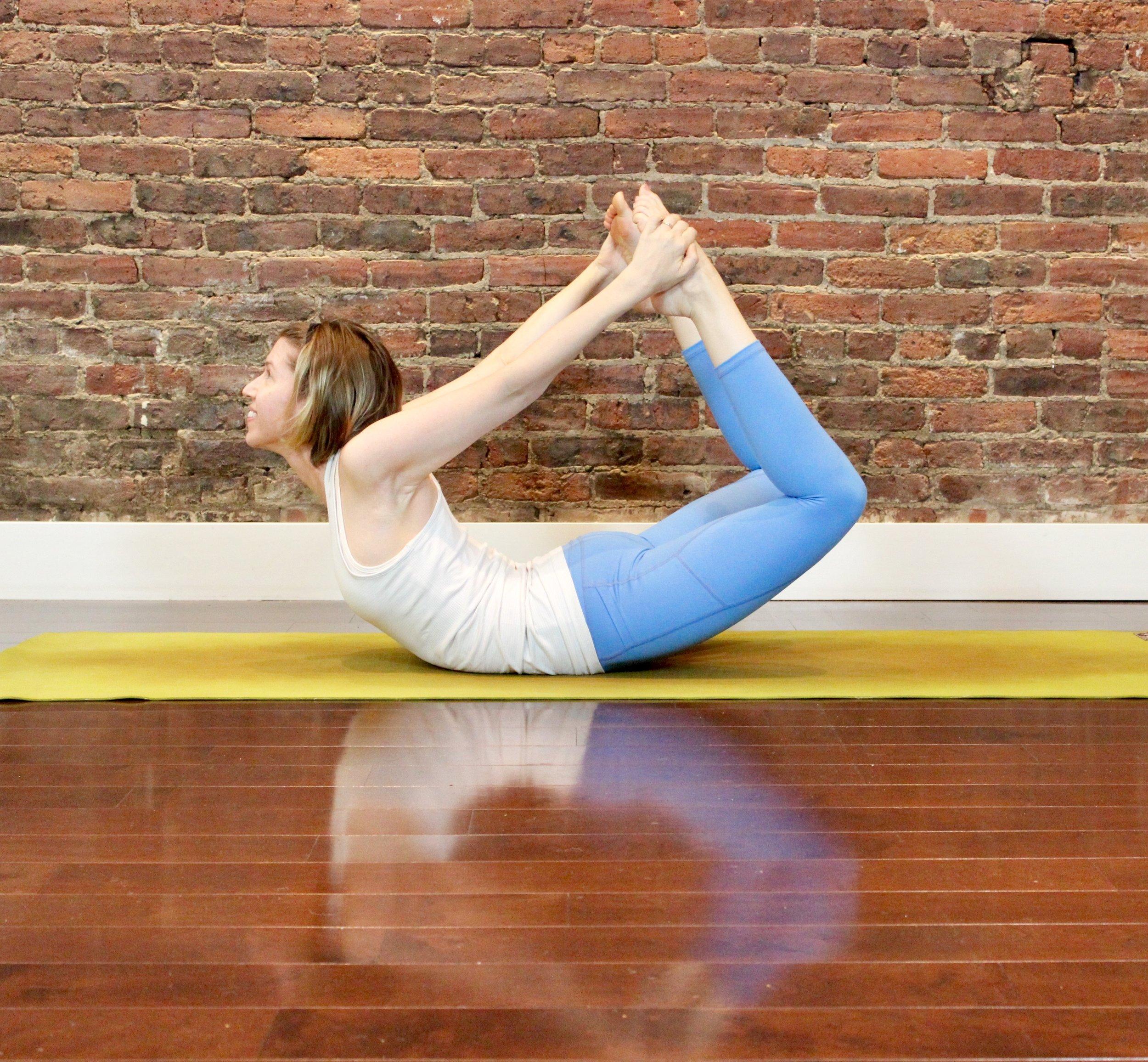 First for Women Mag Yoga Lara Alexiou bow pose.jpg